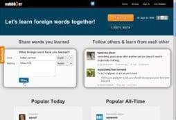 Apprendre les langues sur le web