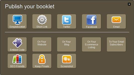 Simplebooklet partage