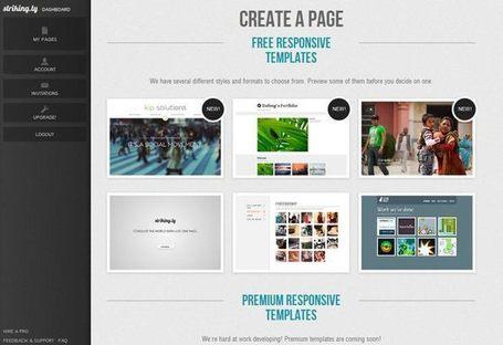 cv en ligne portfolio