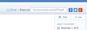 Jumpshare partage de fichiers