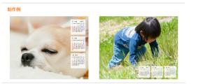 Exemple de calendrier photo