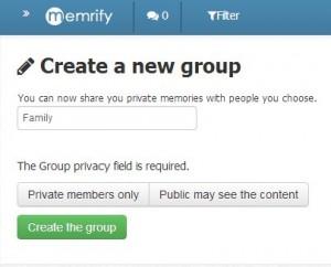 Groupes memrify