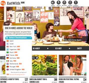 Eatwith pays