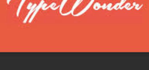 TypeWonder logo