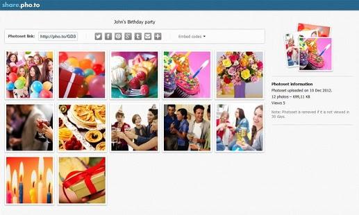 sharephoto partager vos albums d 39 images sur les r seaux sociaux les outils du web. Black Bedroom Furniture Sets. Home Design Ideas