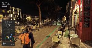 Google night walk marseille