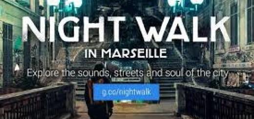 marseille google night walk