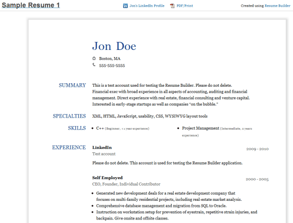 how to add linkedin on your resume