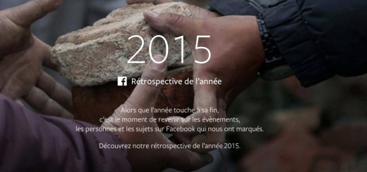Facebook année 2015