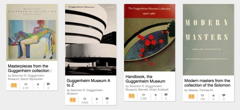 1000 livres d'art moderne à télécharger gratuitement